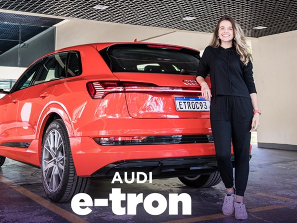 As Tecnologias mais legais do AUDI E-TRON