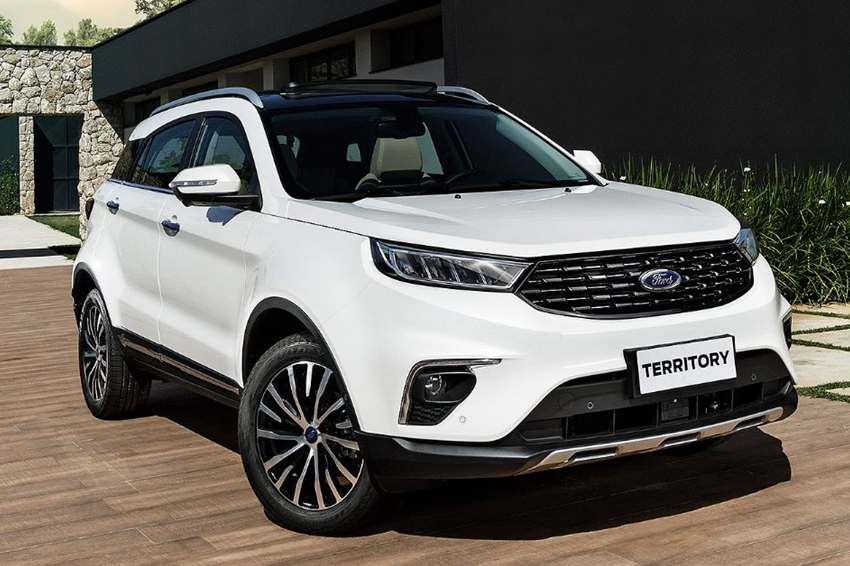 Atributos chineses do SUV Ford Territory irão superar o Jeep Compass