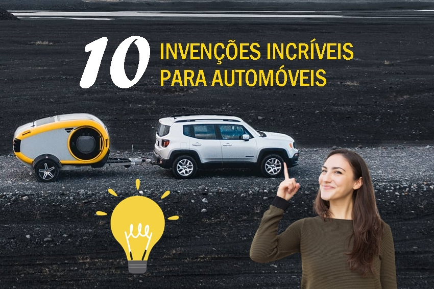 Conheça 10 invenções incríveis para automóveis
